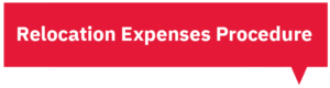 Relocation Expenses Procedure